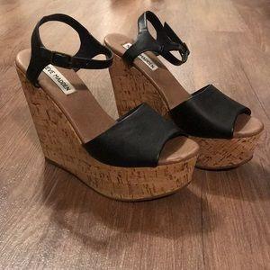 Korkey Platform Wedge Sandal